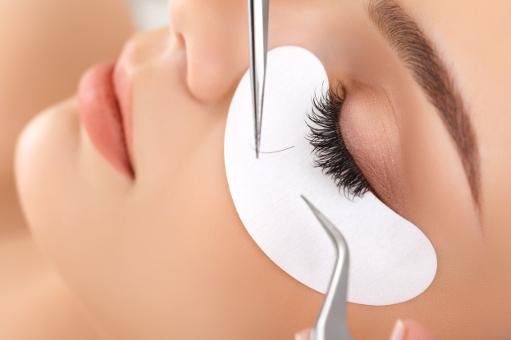 Eyelash extension service